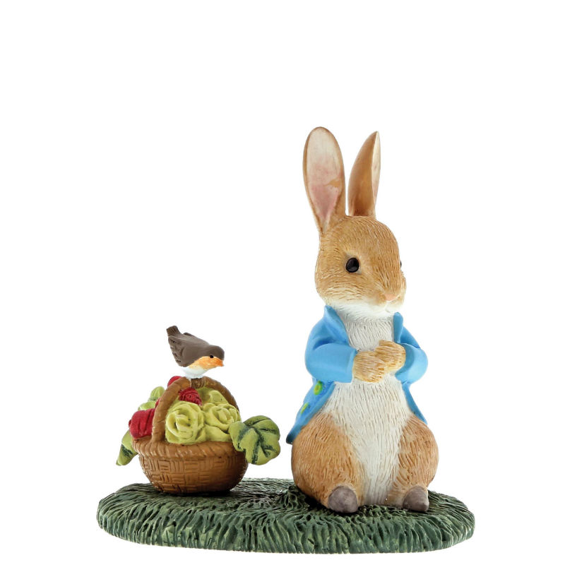Peter Rabbit with Basket