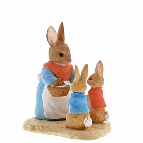 Mrs Rabbit, Flopsy and Peter