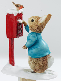 Peter Rabbit posting a Letter