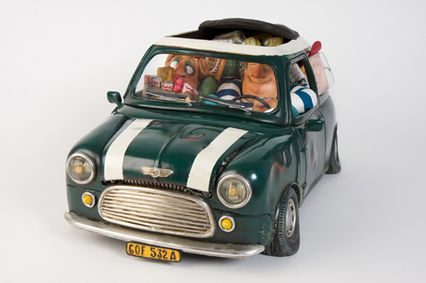 My First Love, groene mini door Guillermo Forchino,