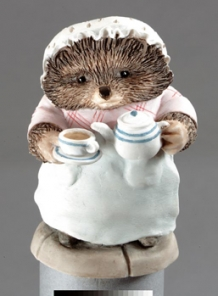 Mrs. Tiggy-Winkle Pouring Tea